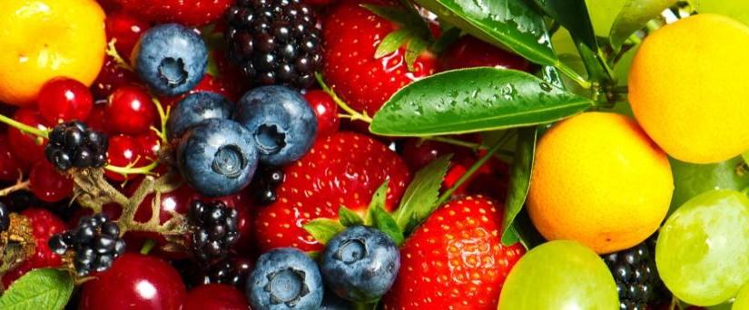 afvallen met water en fruit