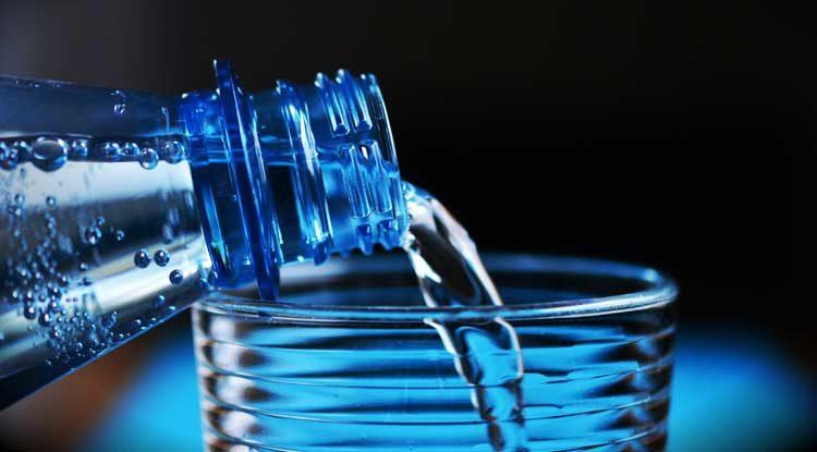 Water drinken bij afvallen
